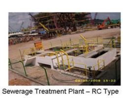 SEWERAGE TREATMENT PLANT - RC TYPE