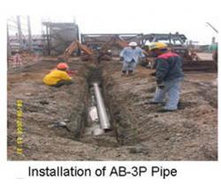 INSTALLATION of AB-3P Pipe
