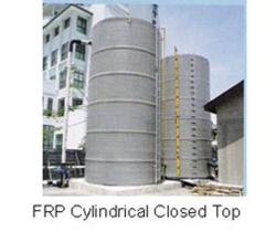 WATER TANK - FRP Cylindrical Closed Top